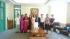 Đoàn công tác Học viện Văn Sơn, Trung Quốc đến thăm và làm việc tại trường