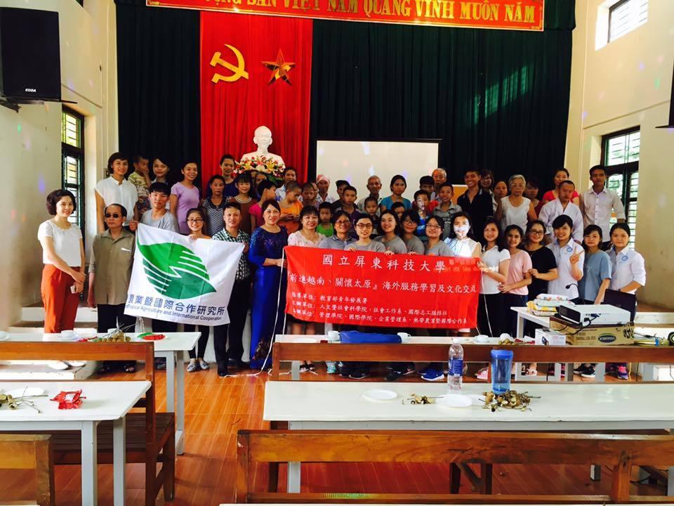 Buổi chia tay tại Trung tâm Bảo trợ xã hội tỉnh Thái Nguyên