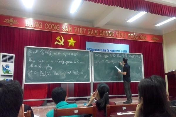 Trường xuân Quốc tế về Đại số Giao hoán