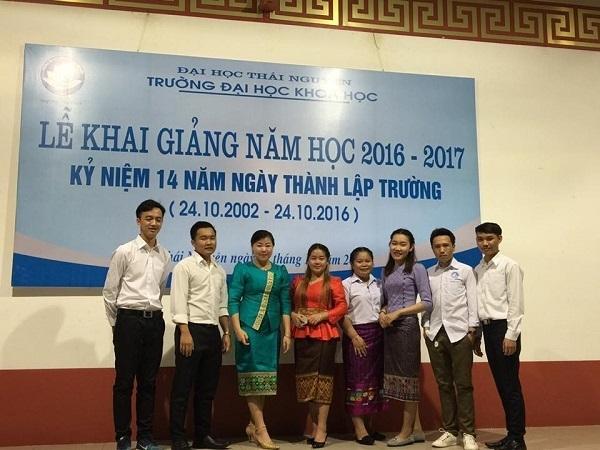 Lưu học sinh Lào tham dự Lễ khai giảng năm học 2016 – 2017